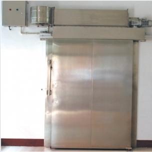 大型冷库不锈钢无框门示意图