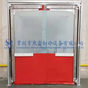PVC防撞自由门