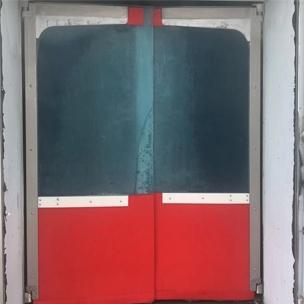 常州寒霜厂家直销PVC自由门 缓冲门